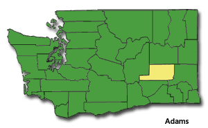 Adams County, Washington State